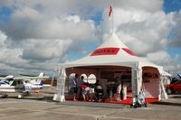 Sebring Regional Airport (SEF) - Rotax Display Tent at the US Sport Aviation Expo, Sebring Regional Airport, Sebring, FL   - by scotch-canadian