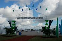 Stewart International Airport (SWF) - Entrance to the US Sport Aviation Expo, Sebring Regional Airport, Sebring, FL - by scotch-canadian
