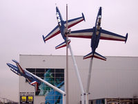 Paris Airport,  France (LFPB) - On display at the entrance of the Air and Space Museum Paris, cn 23, 26, 29. - by BTT