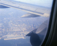 Chicago O'hare International Airport (ORD) - Meigs Field (KCGX/CGX) seen from N9002U UAL 737-200. - by GatewayN727
