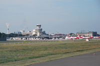 Tegel International Airport (closing in 2011), Berlin Germany (EDDT) - Taxiing onboard D-AIBE - by Tomas Milosch