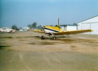 Lodi Airport (1O3) - Crop Duster  at Lodi Airport, Lodi, CA - July 1989 - by scotch-canadian