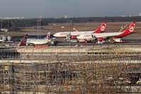 Tegel International Airport (closing in 2011), Berlin Germany (EDDT) - Sign of disintegration at Terminal A or consequence of Air Berlin´s austerity? - by Holger Zengler