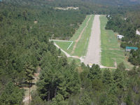 Timberon Airport (52NM) - Landing from the south.  - by Bobbie Brown