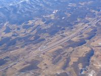 Mountain Empire Airport (MKJ) - Looking SW from 10,000 ft. - by Bob Simmermon