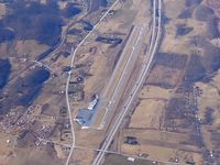 Mountain Empire Airport (MKJ) - Looking west - by Bob Simmermon