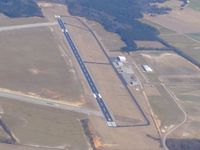 Darlington County Jetport Airport (UDG) - Looking east - by Bob Simmermon