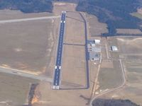 Darlington County Jetport Airport (UDG) - Looking NE down RWY 5 - by Bob Simmermon