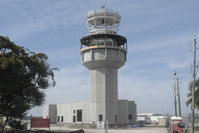 Fort Lauderdale Executive Airport (FXE) - The new ATC tower under construction at FXE - by Bruce H. Solov