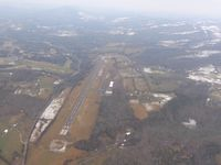 New Tazewell Municipal Airport (3A2) - Looking west - by Bob Simmermon