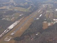 New Tazewell Municipal Airport (3A2) - Looking SW - by Bob Simmermon