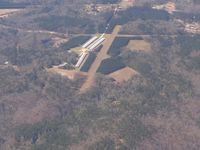NONE Airport - Uncharted strip on Claremont Dr. near Jefferson, SC.  Looking south - by Bob Simmermon