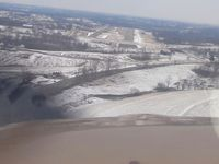Mount Sterling-montgomery County Airport (IOB) - Final approach RWY 3. - by Bob Simmermon