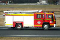Manchester Airport, Manchester, England United Kingdom (EGCC) - Fire Truck #11 at Manchester Airport - by Chris Hall