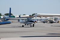 Deland Muni-sidney H Taylor Field Airport (DED) - Cessna 150 at DeLand Municipal - Sidney H. Taylor Field, DeLand, FL - by scotch-canadian