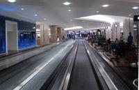 Orlando International Airport (MCO) - Orlando Terminal A moving walkways - by Florida Metal