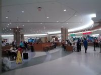 Orlando International Airport (MCO) - Food court area of Orlando Airport - by Florida Metal