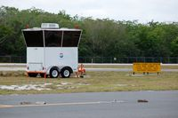 Plant City Airport (PCM) - Mobile Aircraft Control Cab at Plant City Airport, Plant City, FL - by scotch-canadian