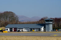 Oban Airport - Oban Airport - terminal building. - by Jonathan Allen