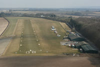 Compton Abbas Airfield Airport, Shaftesbury, England United Kingdom (EGHA) - On approach to runway 08 in C42 G-HNGE. Thanks to Peter for the flight. - by Howard J Curtis