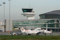 Brest Bretagne Airport, Brest France (LFRB) - Beech 1900C-1, Brest-Bretagne Airport (LFRB-BES) - by Yves-Q