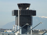 Geneva Cointrin International Airport, Geneva Switzerland (LSGG) - Geneva airport tower - by Chris Hall