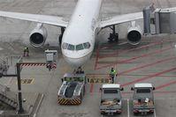 Stuttgart Echterdingen Airport, Stuttgart Germany (EDDS) - At stand 15 a push-back ceremony is starting ... - by Holger Zengler
