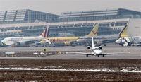 Stuttgart Echterdingen Airport, Stuttgart Germany (EDDS) - Ready for take-off on rwy 07..... - by Holger Zengler