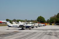 Crystal River Airport (CGC) - Flight Line at Crystal River Airport, Crystal River, FL  - by scotch-canadian