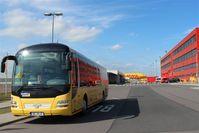 Leipzig/Halle Airport, Leipzig/Halle Germany (EDDP) - At DHL Air Hub main gate.... - by Holger Zengler