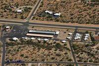 La Cholla Airpark Airport (57AZ) - Main apron at La Cholla Airpark - Tucson, AZ - USA (57AZ) - by AirplaneMart.com
