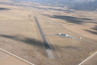 Manti-ephraim Airport (41U) - Final approach Runway 03 - by Dan Nelson