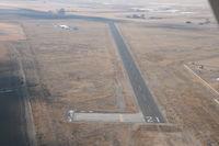 Manti-ephraim Airport (41U) - Runway 21 - by Dan Nelson