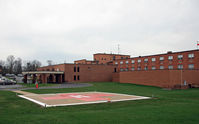 Mercy Memorial Hospital Heliport (99OH) - Hospital heliport, near Grimes Field - by Daniel L. Berek