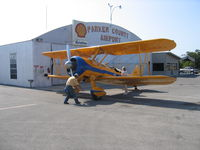 Parker County Airport (WEA) - Refueling at Parker county airport - by E.Oltheten