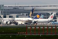 Frankfurt International Airport, Frankfurt am Main Germany (EDDF) - Three continental summit at Terminal 1.... - by Holger Zengler