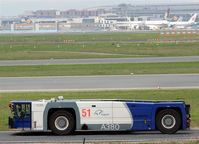 Frankfurt International Airport, Frankfurt am Main Germany (EDDF) - Pusher no. 51 on way to a new task.... - by Holger Zengler