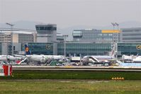 Frankfurt International Airport, Frankfurt am Main Germany (EDDF) - View to apron in front of Terminal 1... - by Holger Zengler