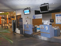 Antwerp International Airport - bmi regional check in counter at Deurne / Antwerp airport - by Henk Geerlings
