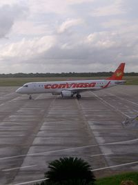 La Chinita International Airport - Conviasa Embraer E-190 - by Jose Gilberto Paz