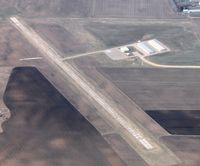 Sauk Centre Municipal Airport (D39) - Aerial view of the Sauk Centre Municipal Airport from 4000'. - by Kreg Anderson
