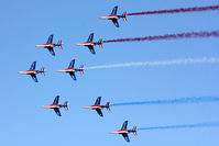 LFMY Airport - 60 years Patrouille de France - by BTT