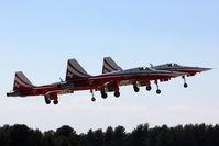 LFMY Airport - 60 years Patrouille de France : F-5E Swiss team - by BTT