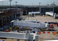Dallas/fort Worth International Airport (DFW) - B gate ramp DFW - by Ronald Barker