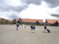 Angkor International Airport - the terminal view from airside. - by DILANTHA