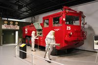 Robins Afb Airport (WRB) - Firetruck at Warner Robins Msueum - by Florida Metal