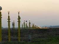 Budapest Ferihegy International Airport - Lights - by Moro Bence