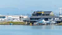 Vancouver International Airport, Vancouver, British Columbia Canada (CYVR) - The Harbour Air Seaplanes Terminal is adjacent to the YVR South Terminal on the Fraser River. - by M.L. Jacobs