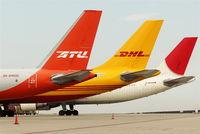Leipzig/Halle Airport, Leipzig/Halle Germany (EDDP) - Beautiful colors on apron 4 west.... - by Holger Zengler