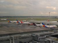Manchester Airport, Manchester, England United Kingdom (EGCC) - Friday morning from an office window. - by Guitarist